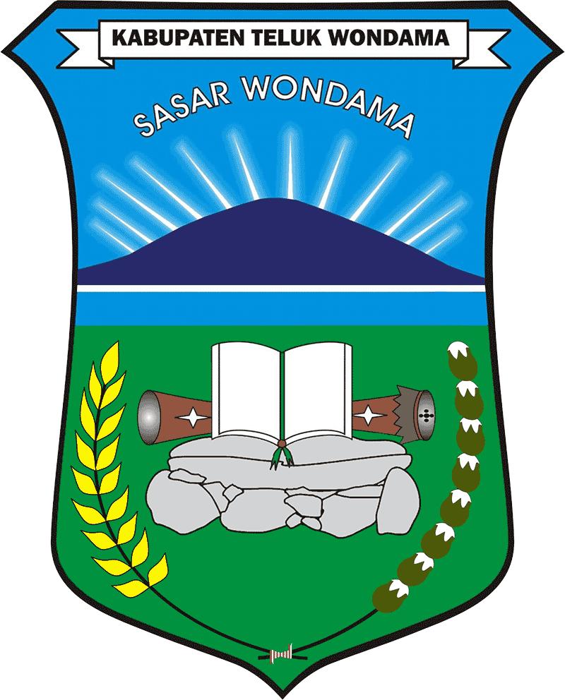 Lambang Kabupaten Teluk Wondama